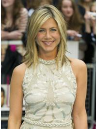 Parrucche Jennifer Aniston Altezza di Spalle Liscia Macchina