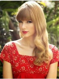 "Parrucche Taylor Swift 18"" acconciature Biondo Mossa"