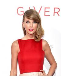 "Parrucche Taylor Swift 12"" elegante Biondo Mossa"