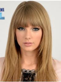 "Parrucche Taylor Swift 18"" moderno Biondo Liscia"
