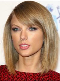 "Parrucche Taylor Swift 12"" Superiore Biondo Liscia"