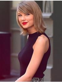 "Parrucche Taylor Swift 14"" flessibilità Biondo Liscia"
