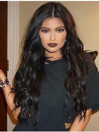Parrucche Kylie Jenner Lungo Riccia Full Lace confortevole