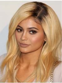 Parrucche Kylie Jenner Lungo Mossa Macchina sfarzoso