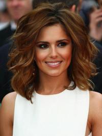 """Parrucche Cheryl Cole Castano Dorato 12"""" Affordable Mossa"""