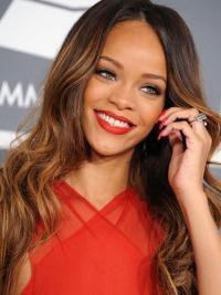 """Parrucche Rihanna 24"""" naturale Castano Lungo"""